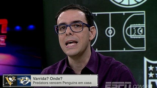 Thiago Simões se mostra surpreso com vitória dos Predators na Stanley Cup: 'Quem diria'