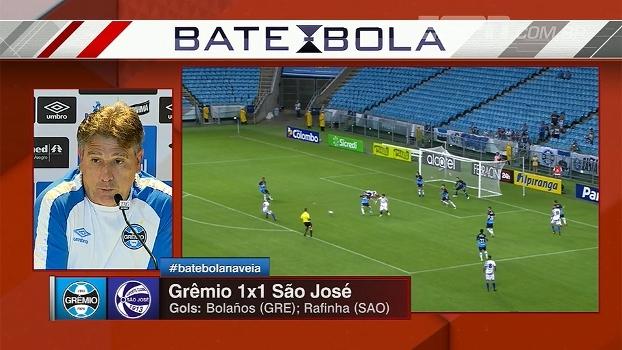 Renato Gaúcho cita erros do Grêmio e lamenta: 'Empate em casa não foi bom'