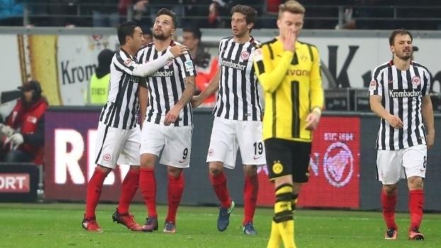 Bundesliga: Melhores momentos de Eintracht Frankfurt 2 x 1 Borussia Dortmund