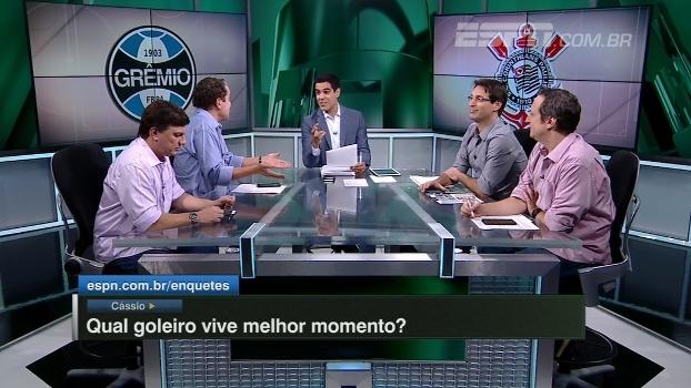 Cássio, Vanderlei, Renan Ribeiro, Magrão ou Gatito: qual goleiro vive melhor momento?