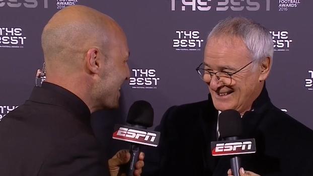 Ranieri brinca sobre não fazer mais pizza e fala da experiência adquirida ao longo da carreira