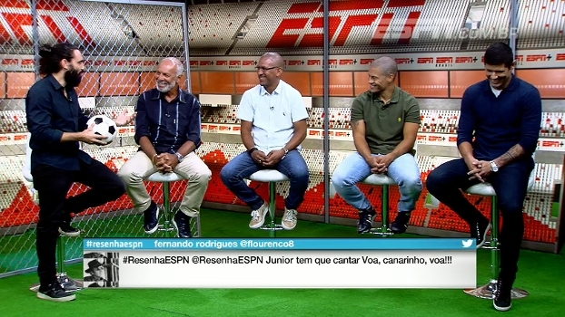 Júnior, Fábio Luciano e Djalminha elegem os Flamengos mais marcantes da história
