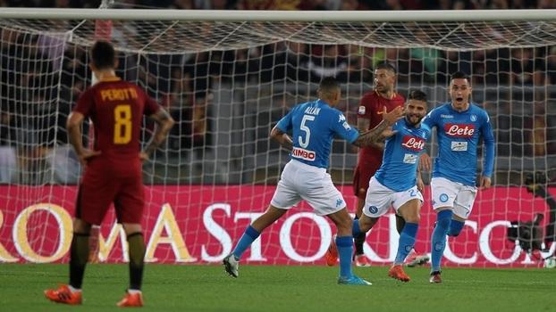 Italiano: Melhores momentos de Roma 0 x 1 Napoli