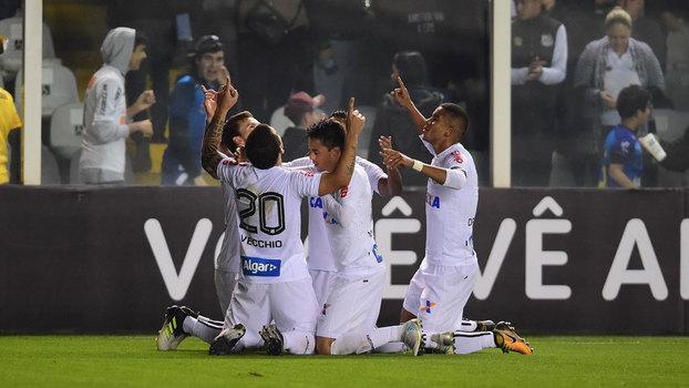 Brasileiro: Gol de Santos 1 x 0 Chapecoense