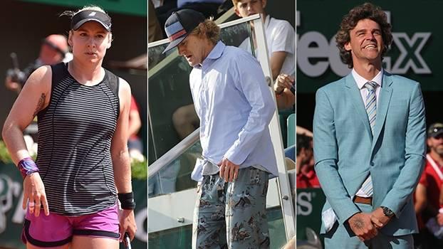 Estilo de Mattek, calça de Owen Wilson e terno de Guga no Meligeni Fashion Week