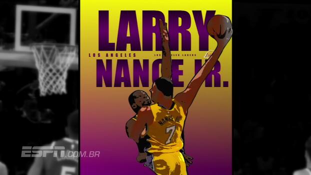Sensacional! Nance dá enterrada absurda na cara de Durant e coloca rival em um 'pôster'