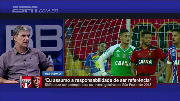 Possível reforço do São Paulo, goleiro Jean é elogiado durante o BB Na Veia: 'Boa contratação'