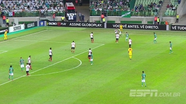 Insistência deu vitória ao Palmeiras contra o Atlético-GO; veja a análise de Rafael Oliveira