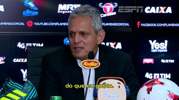 Rueda vê semelhanças entre Atlético Nacional e Fla e fala sobre primeiras impressões: 'É notável que doeu a derrota'