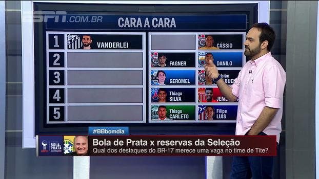 Bola de Prata x reservas da seleção: comentaristas do Bate Bola escolhem os melhores 'do um ao onze'