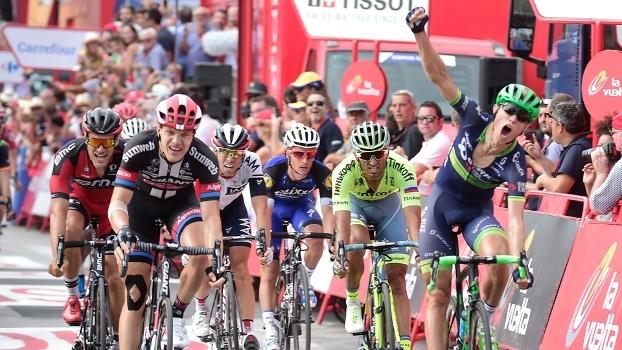 Com chegada emocionante, dinamarquês vence 18ª etapa da Volta da Espanha; Quintana segue líder