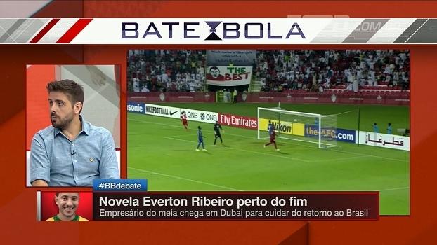 Everton Ribeiro está próximo de retorno ao Brasil; Jorge Nicola fala sobre possíveis destinos do meia