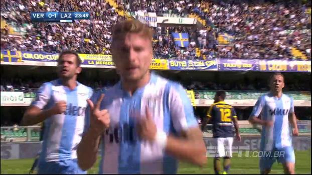 Campeonato Italiano: Gols de Hellas Verona 0 x 3 Lazio