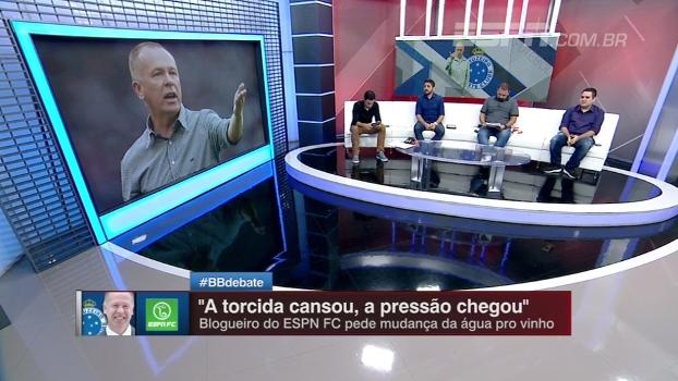 e18015d942 Comentaristas do Bate Bola Debate analisam desempenho do Cruzeiro no  Campeonato Brasileiro