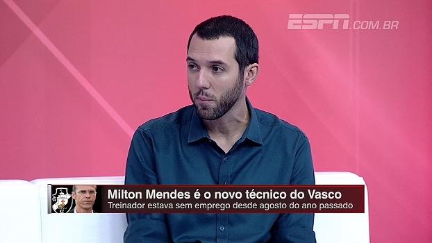 Hofman analisa chegada de Milton Mendes no Vasco: 'Certamente veremos o time mais organizado'