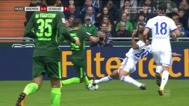 Assista aos gols da vitória do Schalke 04 sobre o Werder Bremen por 2 a 1!