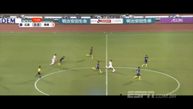 Jogador faz golaço do meio de campo pelo Campeonato Japonês
