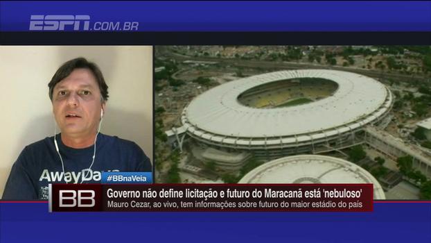 Mauro explica situação do Maracanã, ainda sem licitação e com futuro ameaçado