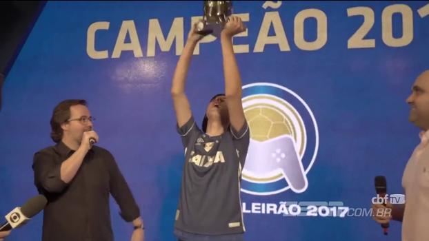 e-Brasileirão tem dono! Veja como Cláudio 'Henrykinho', do Cruzeiro, se tornou campeão nacional no PES