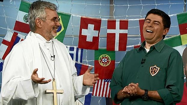 Loucos por Copa: jornalista argentino Edgardo Martólio e o comentarista Gerd Wenzel