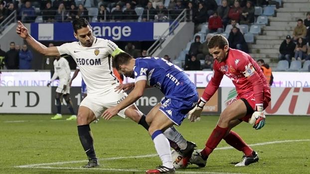 Francês: Gols de Bastia 1 x 1 Monaco