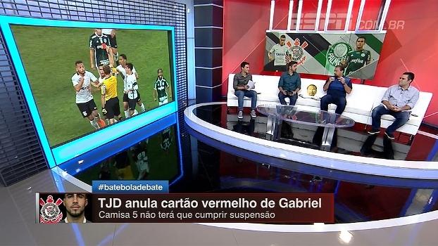 TJD abre precedente anulando vermelho de Gabriel? Bate Bola comenta