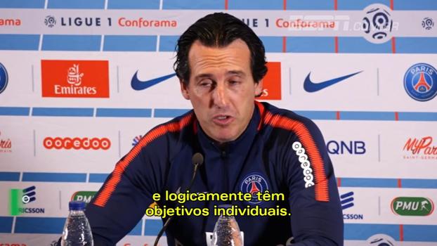 Técnico do PSG nega má relação entre Neymar e Cavani