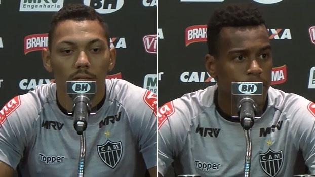 Jogadores do Atlético-MG comemoram oportunidades e revelam instruções de Roger