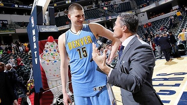 Paul George vai bem, mas sérvio brilha e Nuggets vencem os Pacers em Indiana