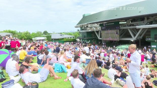 Muvuca, filas e falta de conforto: o lado oculto, mas também muito divertido, de Wimbledon