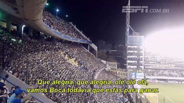 La Bombonera fervendo: veja a festa da torcida do Boca contra o Arsenal de Sarandí