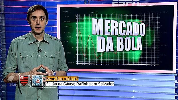 Mercado da Bola - Flamengo e Bahia negociam troca: Feijão ...