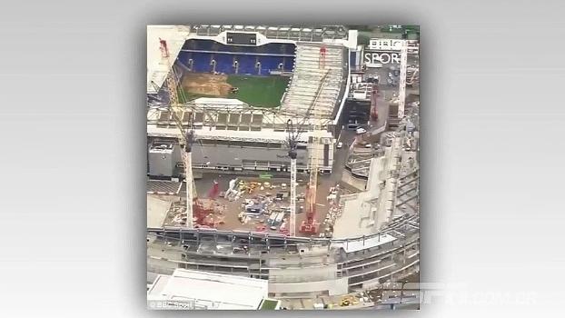 Antigo estádio do Tottenham já tem reforma iniciada após último jogo