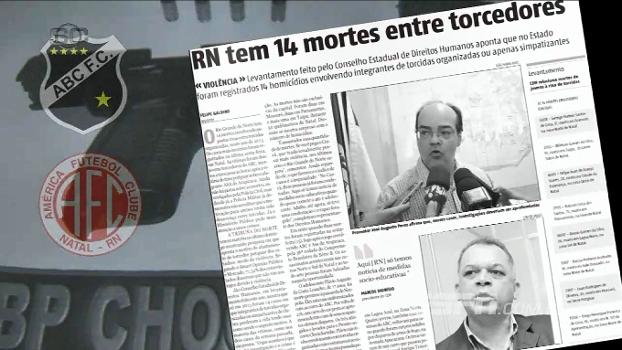 Torcidas de ABC e América-RN vivem no fio da navalha no Rio Grande do Norte