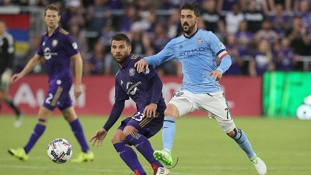 Kaká passa em branco, David Villa marca duas vezes e New York City vence o Orlando City por 3 a 0