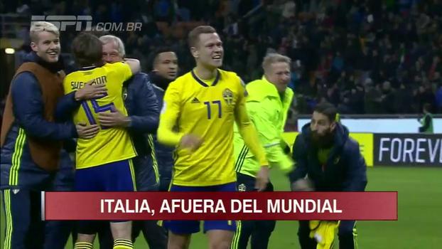 Veja os melhores momentos de Itália 0 x 0 Suécia
