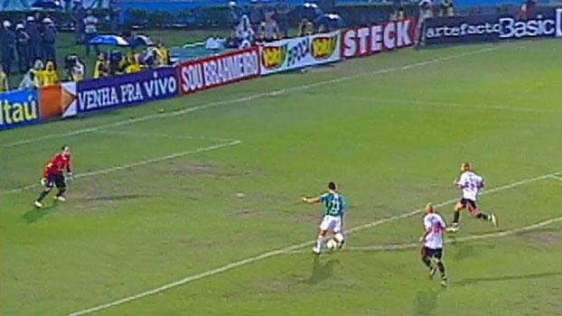 Relembre a assistência de Wendel na semifinal do Paulista diante do São Paulo