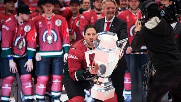 Em jogo disputadíssimo, Frölunda Gotemburgo vence Sparta Praga e conquista o europeu de hockey