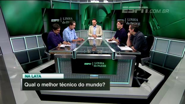 Na lata: quem é o melhor técnico do mundo? Arnaldo, Gian, Juca, Tironi e William opinam