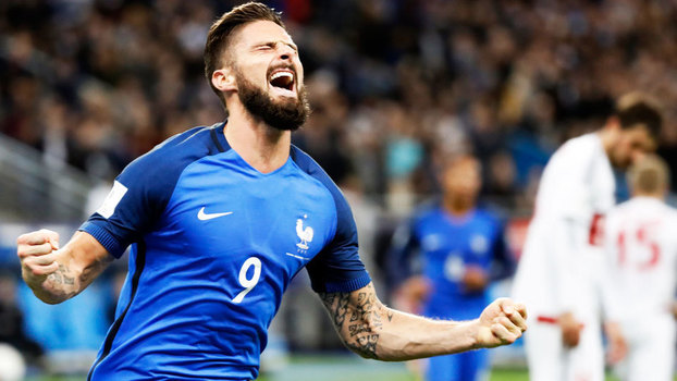 Veja os melhores momentos da vitória da França sobre Belarus por 2 a 1 pelas Eliminatórias Europeias