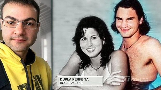 Dupla perfeita? 'Pelas Quadras' faz comparação bizarra entre Ari Aguiar e Federer