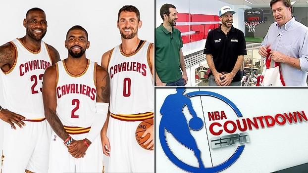Novo acordo, jogadores poupados e convidado especial no 'NBA Countdown Brasil'