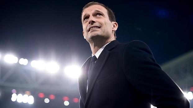 Allegri espera Napoli 'bravo' e se diz contente com desempenho de Higuaín