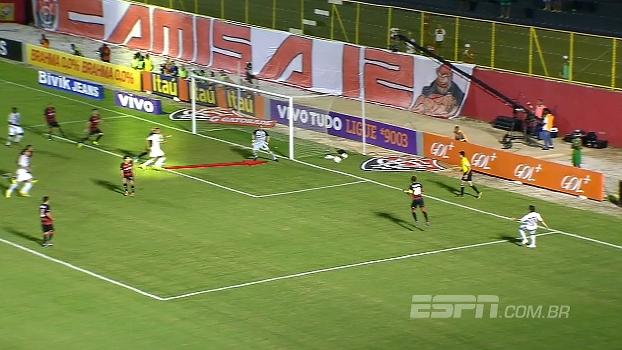 Boa movimentação de Cícero e falha na zaga carioca: Mauro Cezar analisa os gols de Vitória x Fluminense