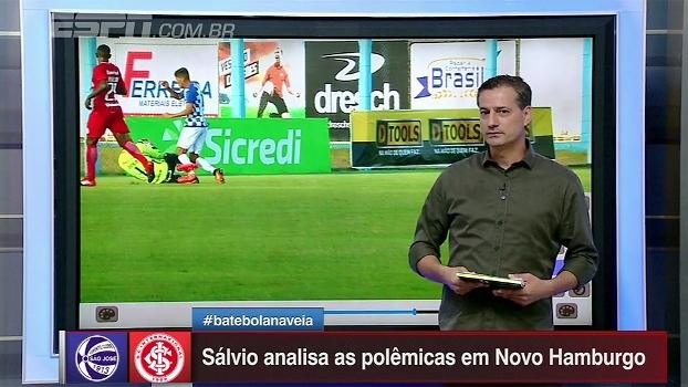 Gol legal do Inter e pênalti não marcado para o São José; Sálvio Spinola analisa