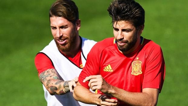Real x Barça: Piqué e Sergio Ramos apimentam o clássico antes de a bola rolar