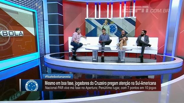 Sorin destaca Thiago Neves e Arrascaeta e projeta Cruzeiro x Nacional-PAR