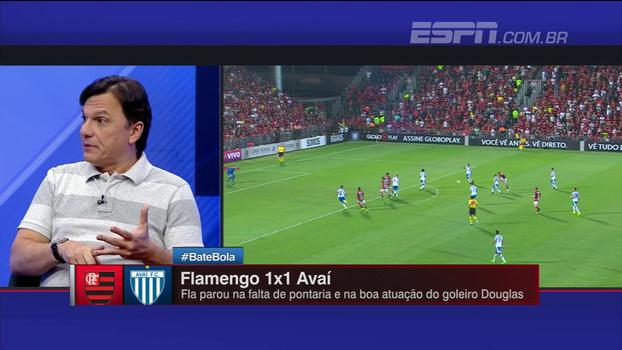 Mauro critica falha de D. Alves e desprezo de Rueda pelo Brasileiro: 'Fla acorda quinta no céu ou no inferno'