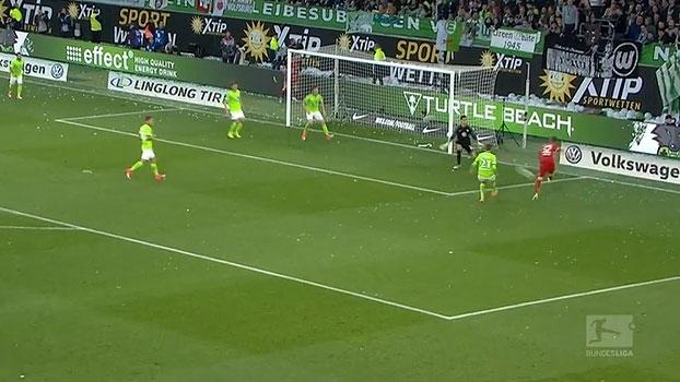 Tempo real: GOL do Bayern! Robben cruza da esquerda, Lewandowski não chega, mas Kimmich completa para o gol
