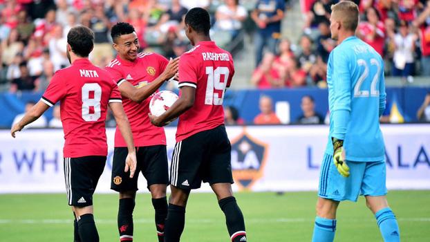 Assista aos gols da goleada do United sobre o LA Galaxy por 5 a 2